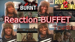 Burnt, Ride Along 2, Sicario, Trumbo, Addicted to Fresno, Life TRAILER REACTIONS!