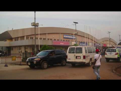Arriving at Lungi International Airport Sierra Leone