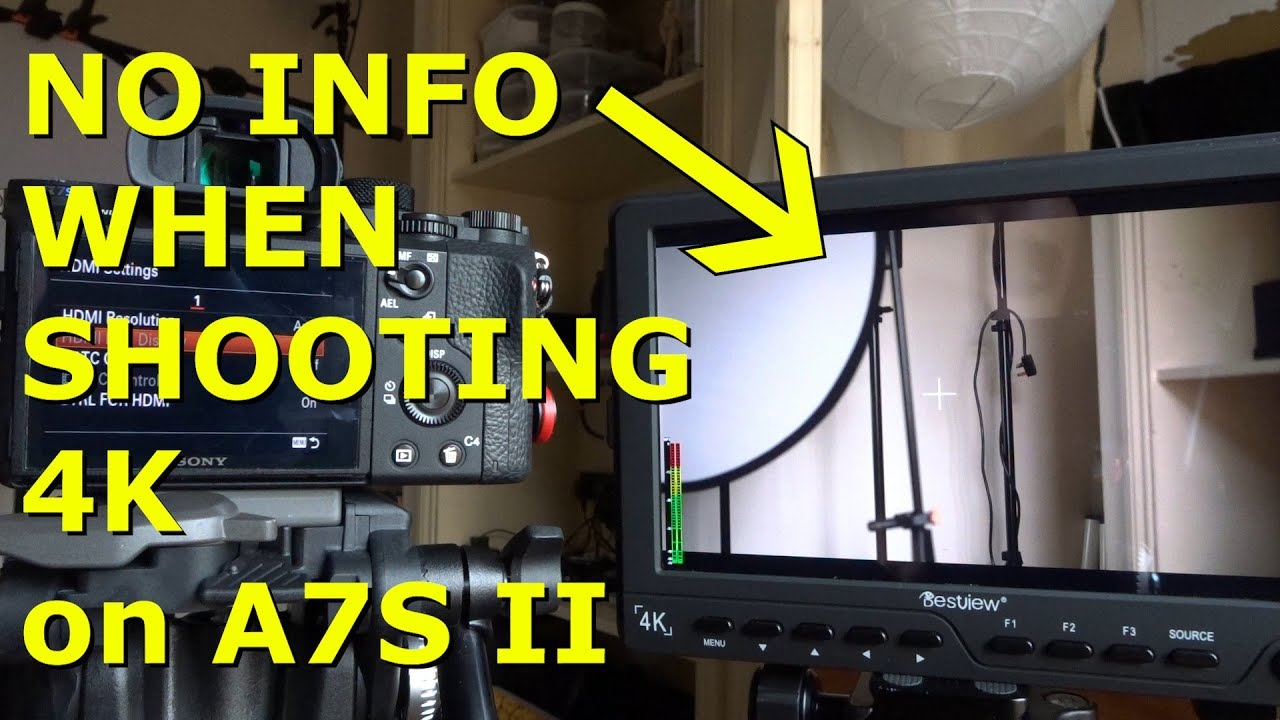 Sony A7S II Problem With External Monitors