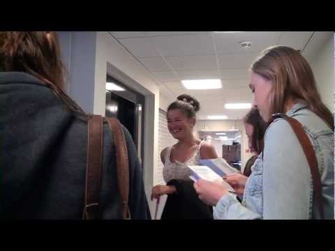 Petroc Tiverton A-Level Results Day 2012