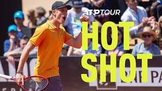 Hot Shot: Shapovalov Rips A Backhand | Lyon 2019