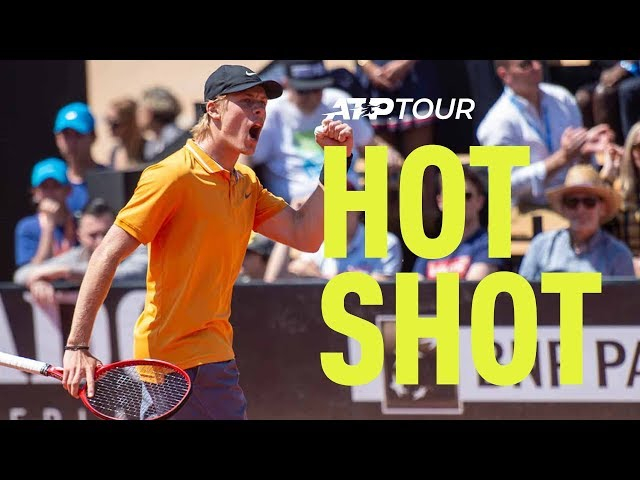 Hot Shot: Shapovalov Rips A Backhand | Lyon 2019