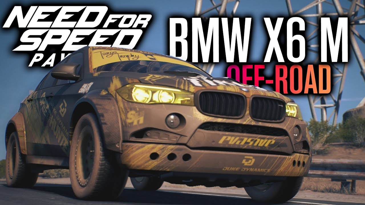 need for speed payback gameplay bmw x6 m off road race. Black Bedroom Furniture Sets. Home Design Ideas
