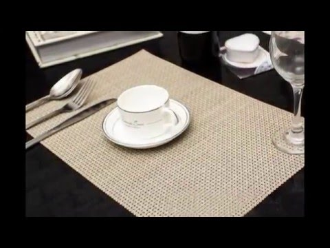 PVC placemat easy clean breakfast lunch dinner placemats anti fire place mat cup mat place mat. reliablewiremeshfactorysupplier wiremeshsupplier & PVC placemat easy clean breakfast lunch dinner placemats anti fire ...