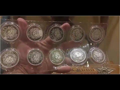 Scottsdale Silver 1 oz Omnia Silver Bullion Rounds
