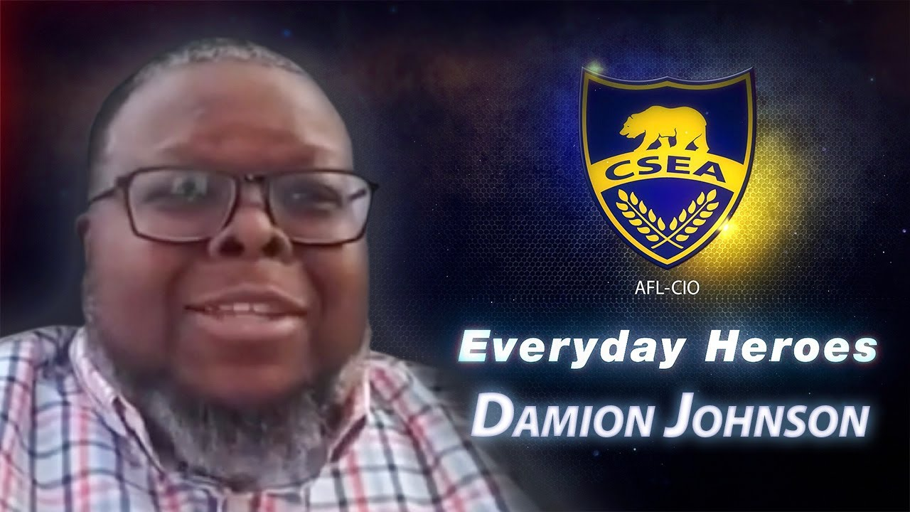 Everyday Hero Damion Johnson