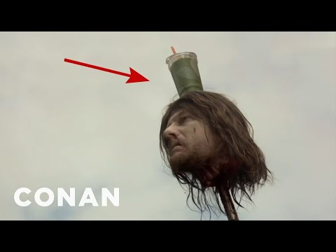"""Accidental Beverage Cameos On """"Game Of Thrones"""" - CONAN on TBS"""