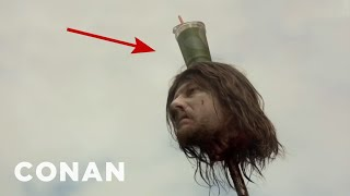 "Accidental Beverage Cameos On ""Game Of Thrones"" - CONAN on TBS"