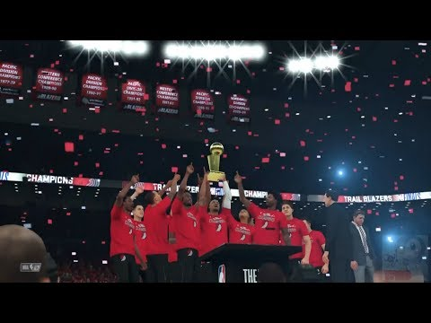 NBA 2K18 - Portland Trail Blazers Championship Celebration