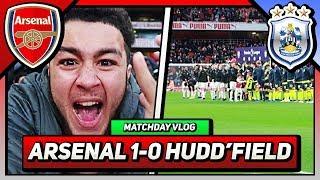 TORREIRA WOAHHH!!! | Arsenal 1-0 Huddersfield | Match Day Vlog (Frank)