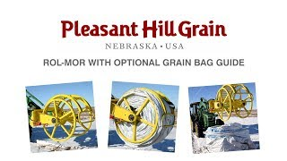 Rol-Mor with optional grain bag guide attachment