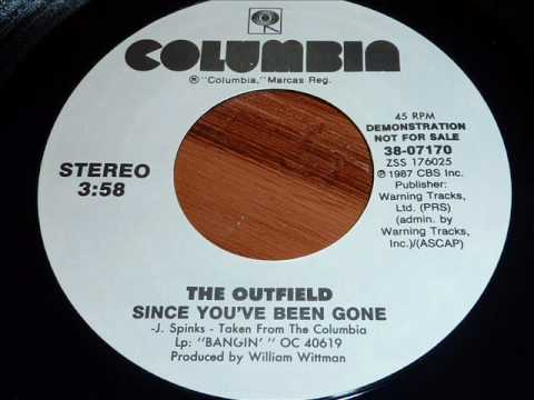 """Outfield """"Since You've Been Gone"""" 45rpm"""