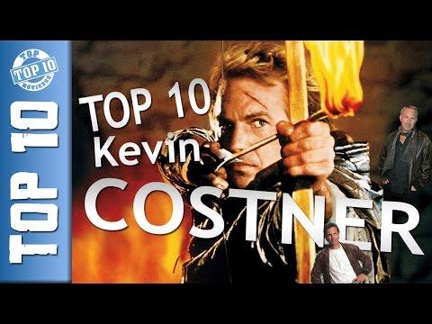 KEVIN COSTNER - Top 10 - Legjobb Costner filmek - Kedvenc Costner filmjeim
