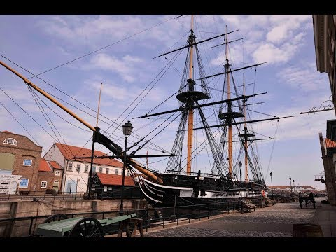 A TOUR ON BOARD HMS TRINCOMALEE AT THE MUSEUM OF THE ROYAL NAVY IN HARTLEPOOL - 20th May 2018