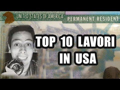 10 Lavori più ricercati per lavorare negli Stati Uniti d'America USA