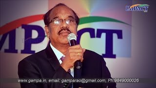 Dr BV Pattabhiram gari speech at IMPACT2014