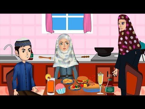 Etiquette & Dua before eating with Abdul Bari - Urdu
