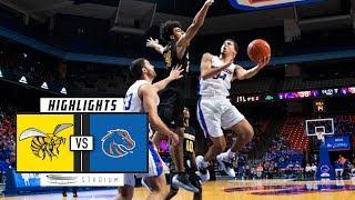 Alabama State vs. Boise State Basketball Highlights (2018-19) | Stadium