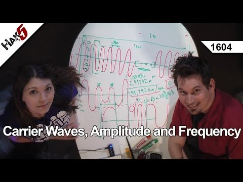 Carrier Waves, Amplitude and Frequency, Hak5 1604