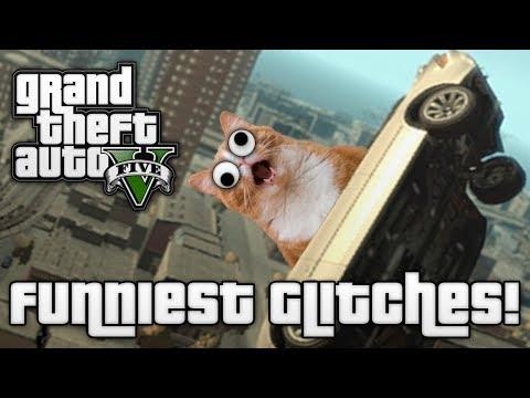 GTA V: FUNNIEST GLITCHES! (GTA 5 Online Funny Moments)