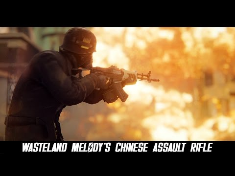 Fallout 4 Mods: Wasteland Melody's Chinese Assault Rifle
