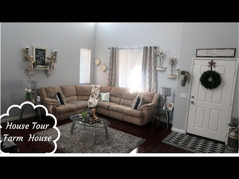HOME TOUR | FARMHOUSE HOUSE DECOR | PART 1