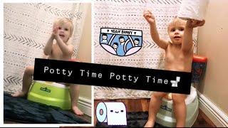 Potty training   Trip to Walmart   Mukbang