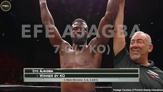 Efe Ajagba 7-0 (7 KOs)