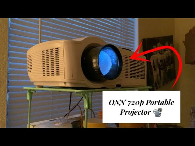 Projector onn roku onn Portable