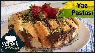Yaz Pastası Hazırlaması 10 Dakika Pratik Yapımı