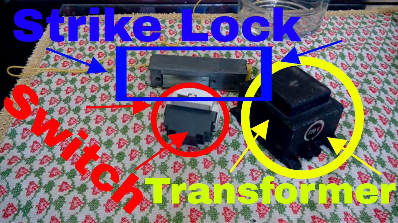hight resolution of electric strike lock how to connect an electric strike lock easy the wiring