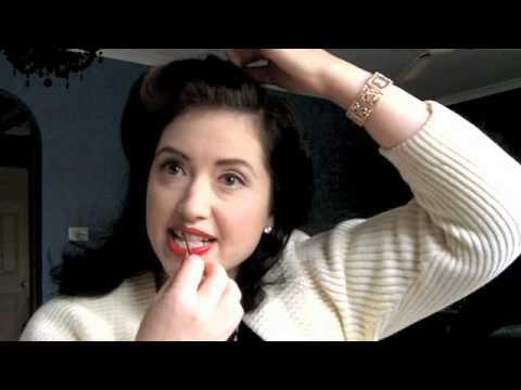 Simple 1940 Day Time Hairdo Youtube