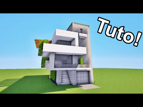 Full download minecraft tuto comment faire une cabane for Maison moderne minecraft xbox one