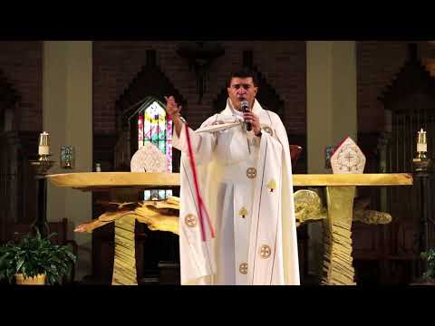 Père Fadi Helwanji messe de remerciement