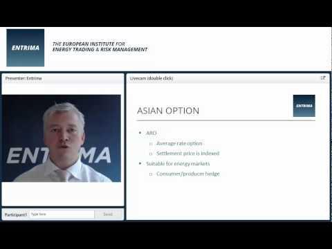 Entrima - Terminology explained: Asian option (Energy Trading & Risk Management)