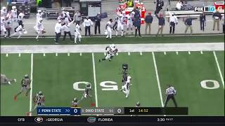 Saquon Barkley 97 Yard Kickoff Return!! First play of the game!!