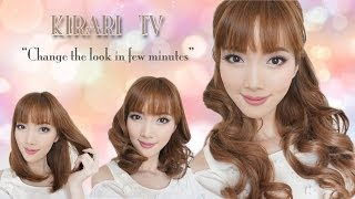 Kirari TV: Change the look in few minutes with Hair piece [HD] Thumbnail
