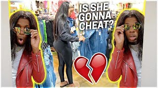 SPYING ON MY GIRLFRIEND IN PUBLIC!!!💔 **EXPOSED**
