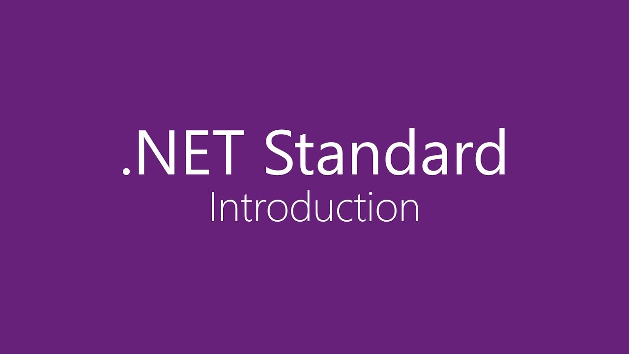 .NET Core and .NET Standard: What Is the Difference?
