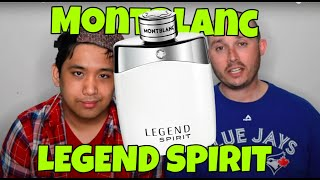 Mont Blanc Legend Spirit with CascadeScents