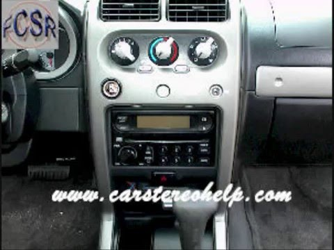 Nissan Frontier Car Stereo Removal Youtube