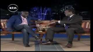 Jeff Koinange Live [Part 1] with Daniel Ndambuki (Churchill) talking about the journey to comedy