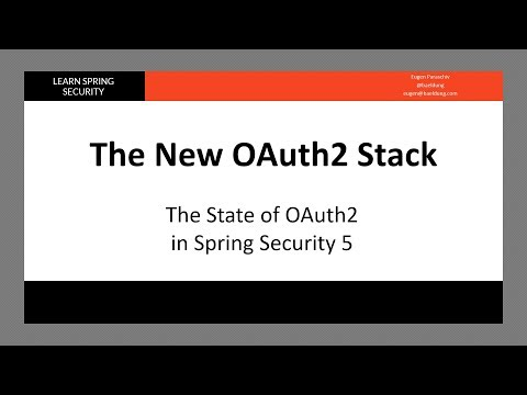 Using JWT with Spring Security OAuth | Baeldung