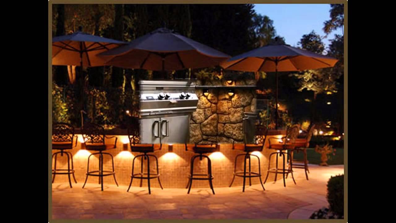 Fascinating Outdoor Kitchen Lighting Design Ideas You