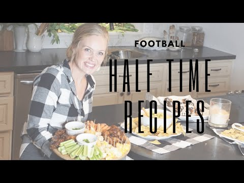 Easy Football Recipes/ Halftime Snacks