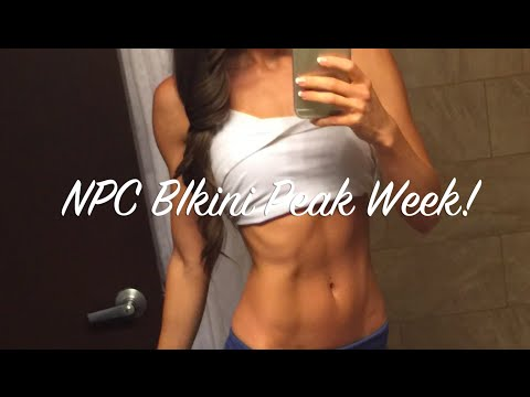 NPC Bikini Peak Week