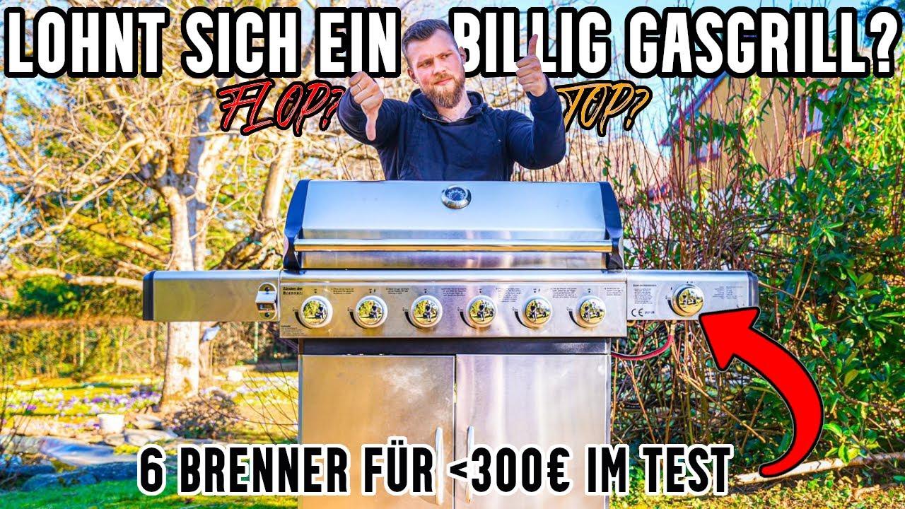 Der beste Gasgrill unter 300€ ?! El Fuego Gasgrill im Härtetest [KAUFBERATUNG]