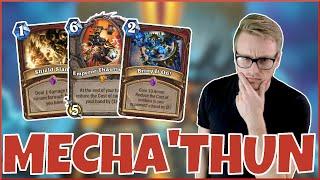 Hearthstone | Mecha'thun Mayhem! | Wild Mecha'thun Warrior | Rise of Shadows