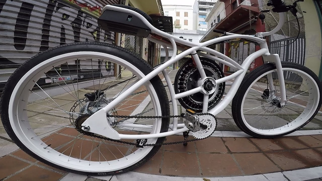 Washing Machine motor on a bicycle #vol2 (teaser)