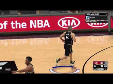 NBA 2K17 - MyCareer San Antonio Spurs
